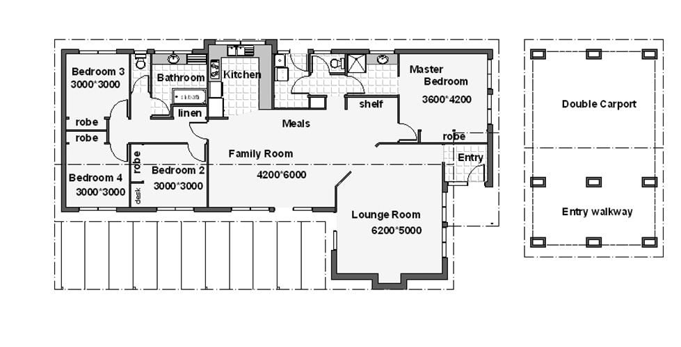 Ausdesign australian house plans home designs for House floor plans australia